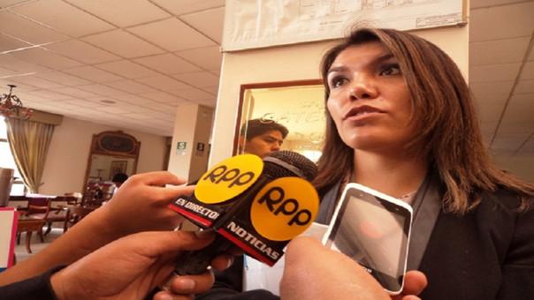 Tania Villar Narro, directora del Centro de Emergencia Mujer (CEM)