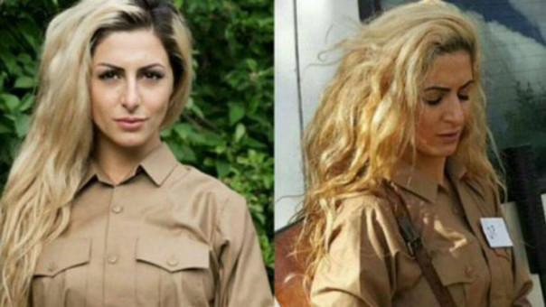 La bella joven danesa que se fue a Siria a luchar contra el Estado Islámico