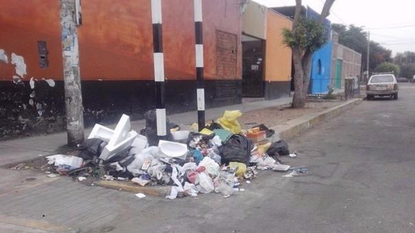 Trujillo: persiste malestar por basura en calles
