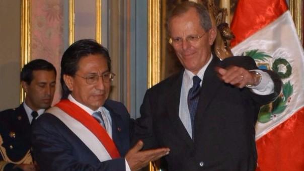 PPK fue ministro, socio y asesor de Alejandro Toledo. Se separon tras el final de su gobierno y fueron rivales políticos en las dos últimas campañas presidenciales