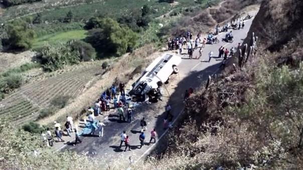 Tragedia en Cascas: no tendría SOAT minivan siniestrada