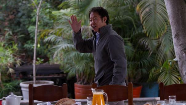 La última vez que se le vio a Kenji Fujimori fue en el desayuno electoral de su hermana.
