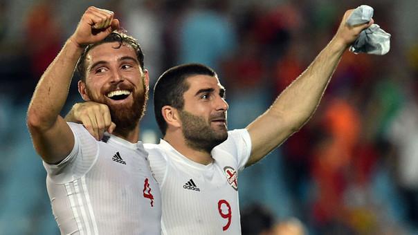 Georgia figura en el puesto 137 del ranking FIFA, mientras que España está en el puesto 6.