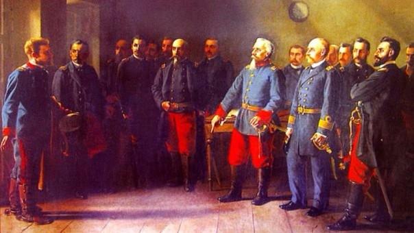 Ante el pedido de rendición de un político chileno, Francisco Bolognesi respondió la famosa frase que todo peruano se sabe de memoria.