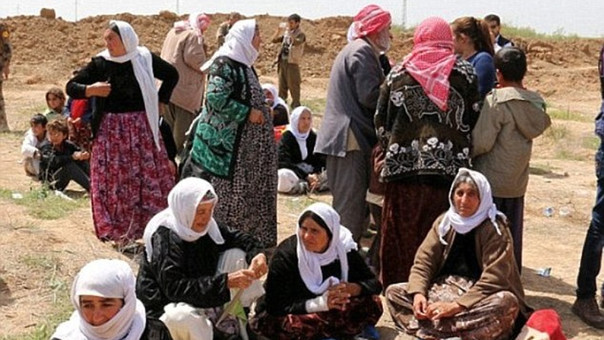 Se estima que unas 3 mil jóvenes yazidíes han sido tomadas como esclavas sexuales del grupo terrorista.