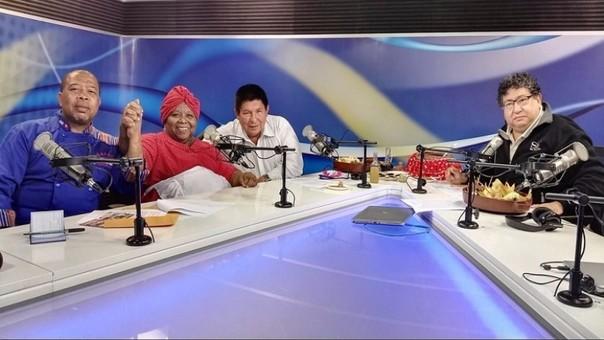 Carlos Holsen y María Jesús Gamero en la Divina Comida