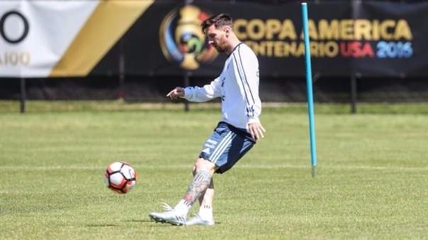 Lionel Messi debutará el viernes en la Copa América.