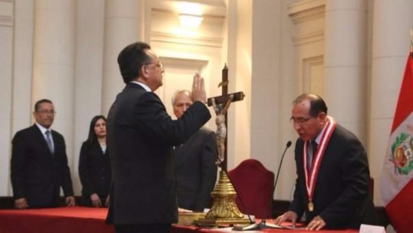 Juramentó el nuevo Contralor General de la República.