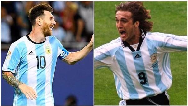Selección Argentina - Copa América Centenario - Lionel Messi - Batistuta