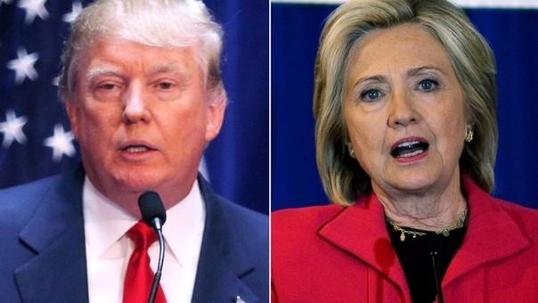 Donald Trump y Hillary Clinton reaccionaron a la tragedia de Orlando