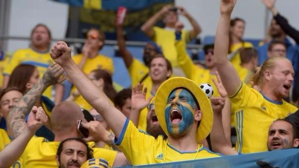 Suecia vs Irlanda.