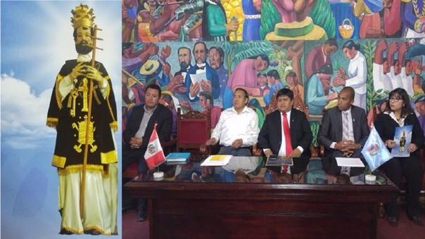 Presentación de actividades religiosas y sociales por San Pedro y San Pablo