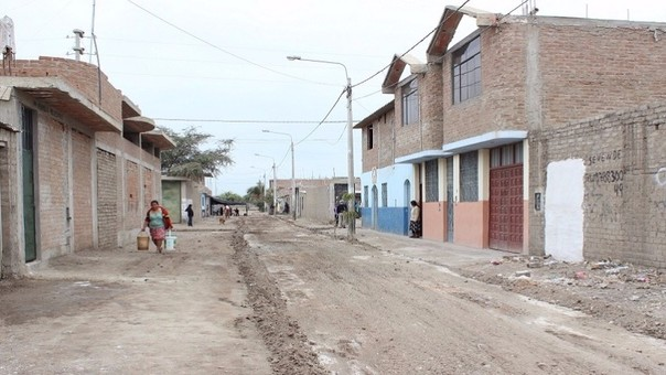 Zonas vulnerables a sismos en Chiclayo.