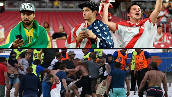 Una Copa América sin incidentes contrasta con los problemas de la Eurocopa