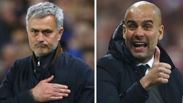 José Mourinho vs. Josep Guardiola