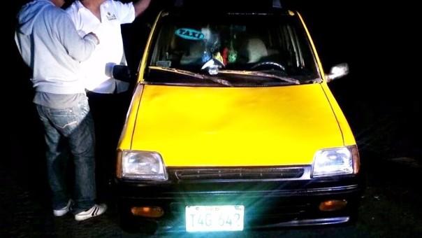 Trujillo: serenazgo recupera taxi robado