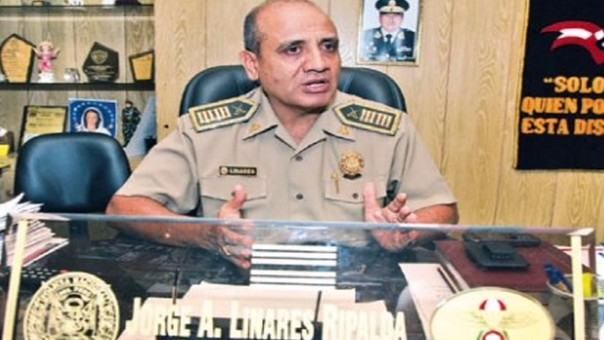 Archivan denuncias contra el coronel Jorge Linares Ripalda.