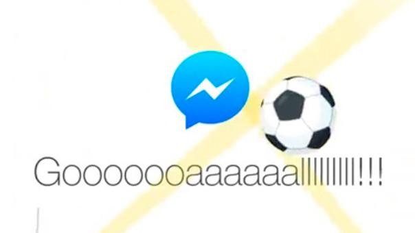 ¿Cómo acceder al juego de fútbol oculto en Facebook Messenger?