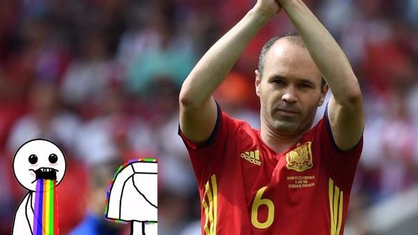 Andrés Iniesta quiere ganar su tercera Eurocopa con la Selección Española.