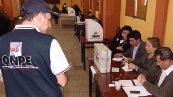 Aprueban 12 pedidos de compra de kit electoral para revocar a alcaldes y regidores