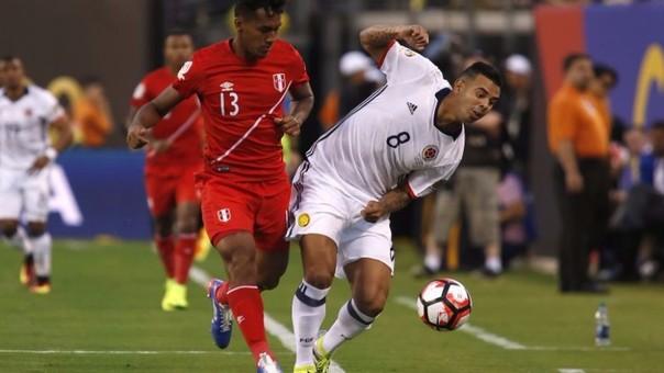 Perú clasifica aunque haya perdido ante Colombia.