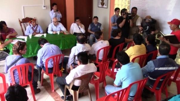 Comunidades Awajun y Wampis suscriben convenio con Petroperú.
