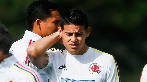 James Rodríguez, a sus 24 años, es capitán y figura de la Selección Colombiana.