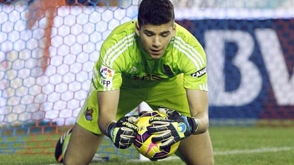 Gerónimo Rulli (22 años) apunta a ser el reemplazante de Sergio Romero (29 años) en la Selección Argentina en un futuro no cercano.