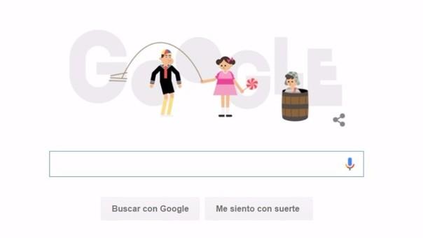 Google dedicó 'Doodle' al Chavo del Ocho y conmemoró el primer capítulo emitido hace 45 años.