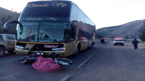 Accidente en el Cusco