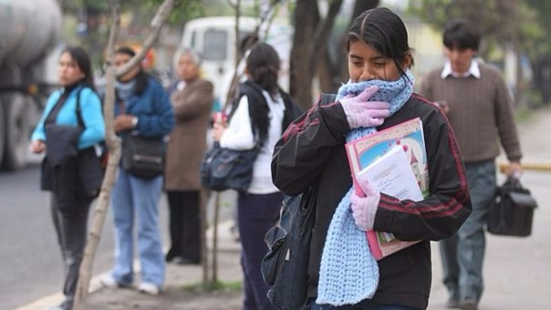 Lima soportó las temperaturas más bajas desde el 2013