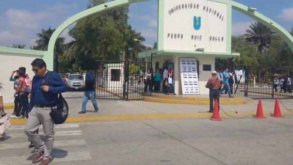 Más problemas para la Universidad Nacional Pedro Ruiz Gallo.