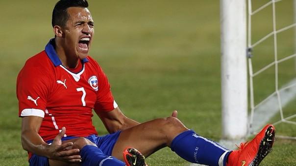 Alexis Sánchez es, junto a Ivan Zamorano, el segundo máximo goleador de la Selección Chilena con 34 goles. No marca desde la Copa América Centenario.