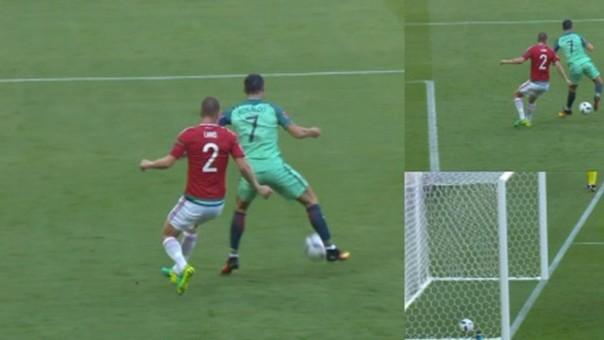 2ea2cbc751265 Cristiano Ronaldo Cristiano Ronaldo anotó un soberbio gol de taco en la  Eurocopa.