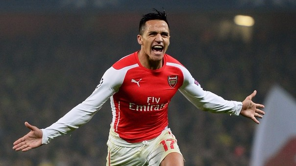 Alexis Sánchez juega actualmente en el Arsenal de la Premier League donde es considerado el 'crack' del equipo.