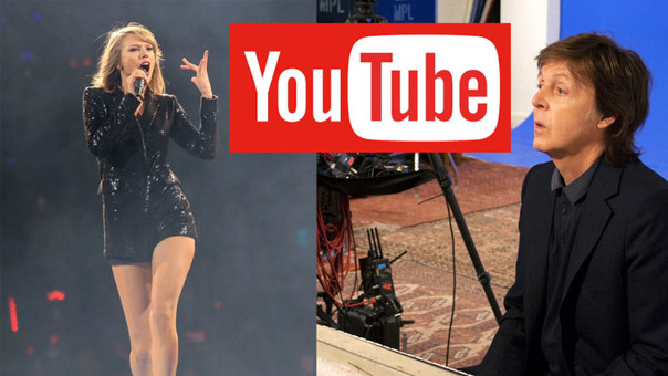 Artistas le dan batalla a YouTube.