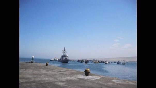 Trujillo: tres buques varados por oleajes anómalos
