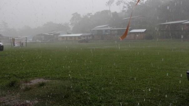 Se espera precipitaciones de moderada a fuerte intensidad.
