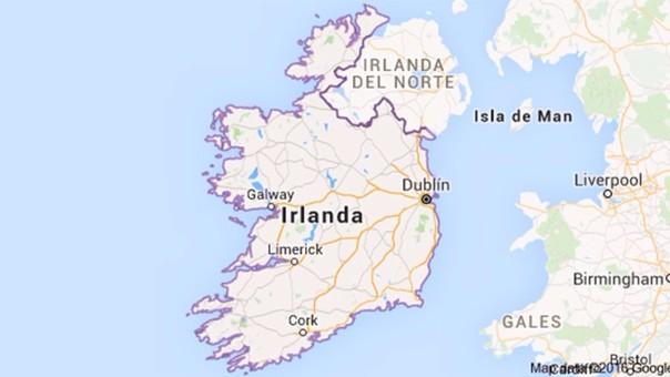 Mapa Irlanda Del Norte.Por Que La Republica De Irlanda No Pertenece Al Reino Unido