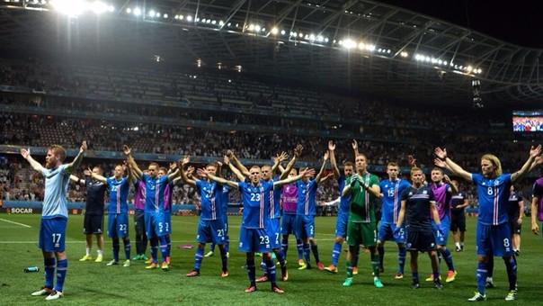 Así fue el impresionante 'haka' de Islandia en la Eurocopa.