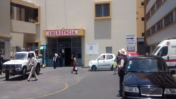 Emergencia Hospital Honorio Delgado