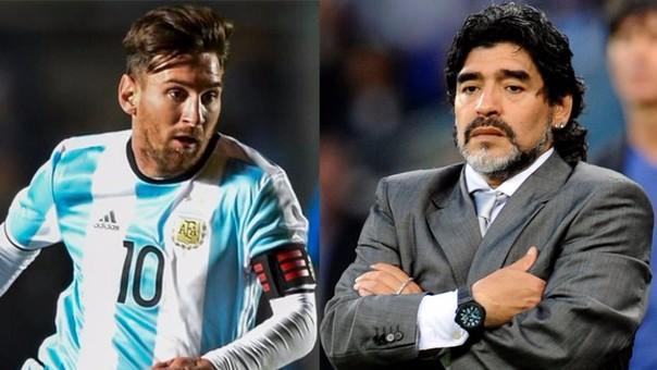 Diego Armando Maradona - Lionel Messi