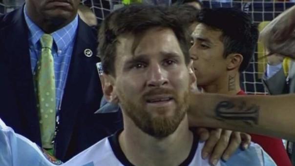 Un hincha argentino ganó la lotería gracias a las lágrimas de Messi