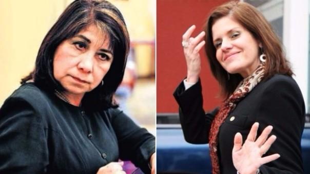 Martha Chávez disparó en su cuenta de Twitter contra Mercedes Aráoz