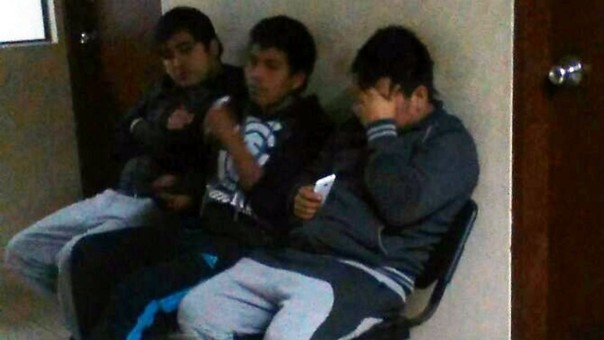 detenidos Huaral