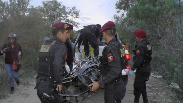 El cadáver fue trasladado a la morgue de Chancay.