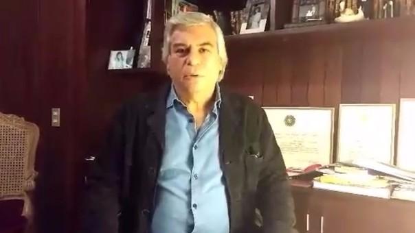 Fernando Olivera busca reinscribir a su partido político.