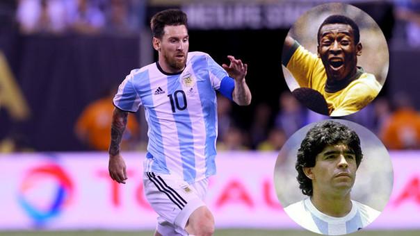 ff8a0c86bee61 Lionel Messi entró a la disputa por ser el mejor de la historia con sus  brillantes números con el Barcelona.