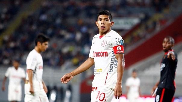 Edison Flores es jugador de Universitario de Deportes desde 2014. Antes lo hizo en 2011 y 2012. También jugó en el Villareal II.