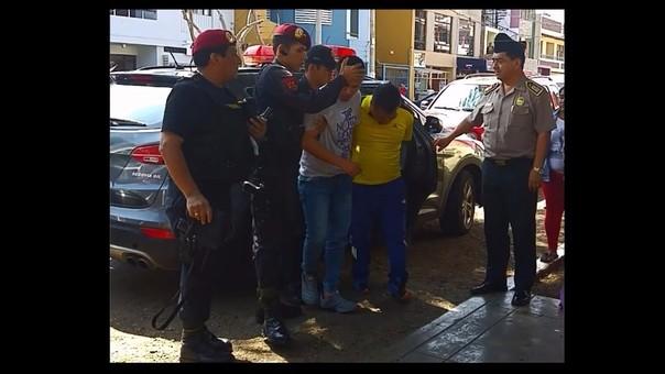 Trujillo: encarcelan a cuatro presuntos 'marcas'